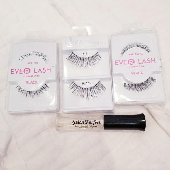 Makeup False Lashes Lash Glue Poshmark